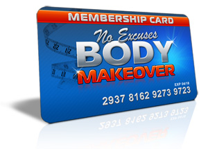no excuses body makeover membership program